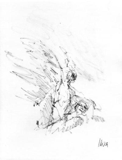 Deux anges de l'oubli de Gérard Macé Pierre Skira