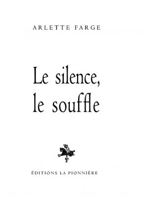 Le silence le souffle