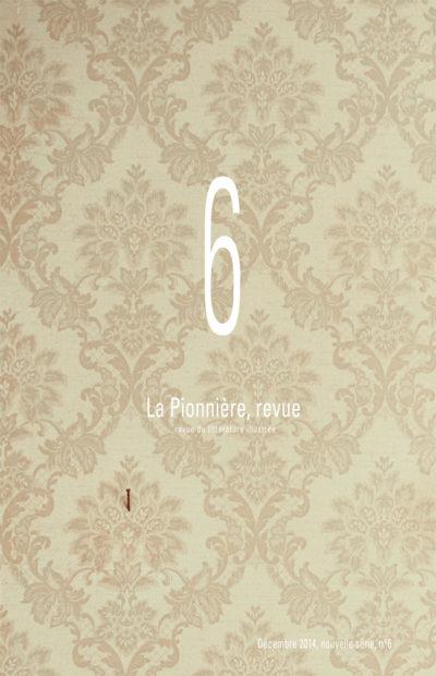 La Pionnière Revue N°6 - couverture