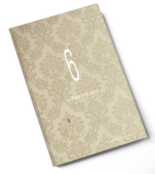 La Pionnière Revue N°6 – couverture