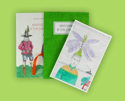 « Histoire d'un jardin » Textes et dessins de Vincent Puente. Tirage de tête. Dessin 2. Prix : 240 €