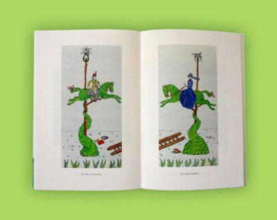 « Histoire d'un jardin » Textes et dessins de Vincent Puente. interieur 39€