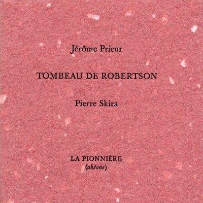 Petit tombeau de Robertson de Jérôme Prieur