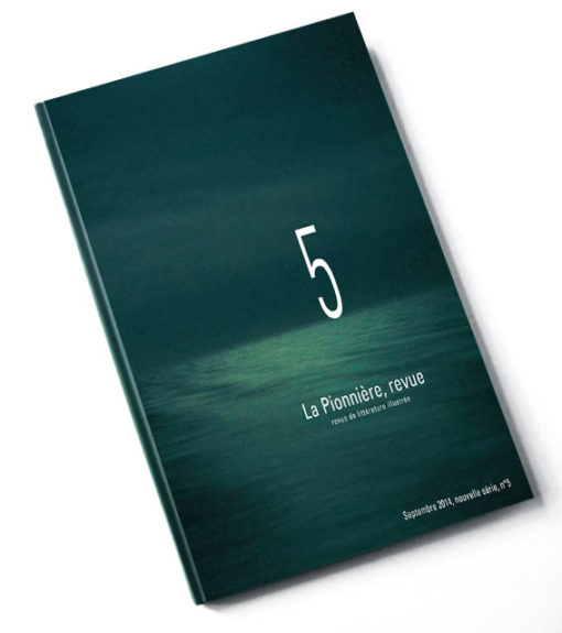 La pionniere, revue N°5 couverture